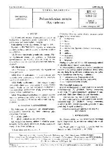 Polimetakrylan metylu - Płyty wytłaczane BN-77/6368-02