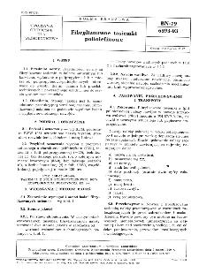 Fibrylizowane tasiemki poliolefinowe BN-79/6393-03