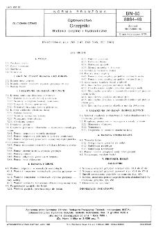 Ogrzewnictwo - Grzejniki - Badania cieplne i hydrauliczne BN-85/8864-48