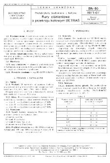 Prefabrykaty budowlane z betonu - Rury ciśnieniowe o przekroju kołowym BETRAS BN-86/8971-07