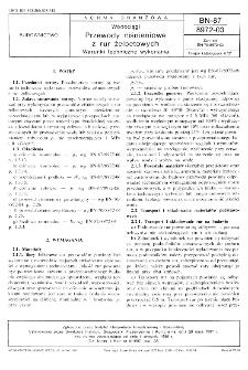Wodociągi - Przewody ciśnieniowe z rur żelbetowych - Warunki techniczne wykonania BN-87/8972-03