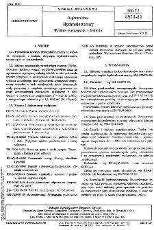 Ustanowiona przez Ministra Gospodarki Terenowej i Ochrony Środowiska dnia 13 listopada 1972 r. jako norma obowiązująca w zakresie produkcji od dnia 1 lipca 1973 r.