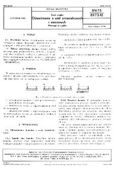 Sieci cieplne - Odwadnianie z wód przeciekowych i sieciowych - Wymagania ogólne BN-75/8973-10