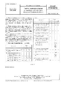 Taśmy samoprzylepne z tworzyw sztucznych - Wymagania fizykomechaniczne BN-93/6419-05/04