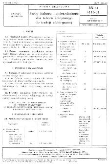 Farby ftalowe nawierzchniowe dla taboru kolejowego do trakcji elektrycznej BN-74/6113-35