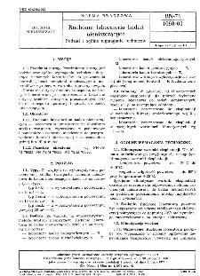Ruchome laboratoria badań nieniszczących - Podział i ogólne wymagania techniczne BN-76/1050-01
