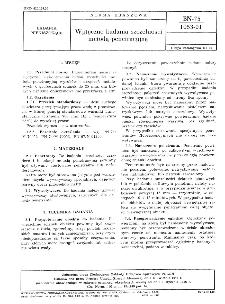 Wytyczne badania szczelności metodą penetracyjną BN-75/1053-01