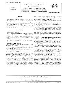 Badania nieniszczące - Metoda magnetyczno-proszkowa badania zaworów trakcyjnych silników spalinowych z zapłonem samoczynnym BN-81/1054-04
