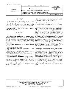 Badania nieniszczące - Metoda magnetyczno-proszkowa badania wałów rozrządu trakcyjnych silników spalinowych z zapłonem samoczynnym BN-81/1054-05