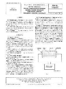 Badania nieniszczące - Metoda magnetyczno-proszkowa badania sworzni tłokowych spalinowych silników trakcyjnych pojazdów szynowych BN-82/1054-06