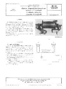 Badania nieniszczące - Metoda magnetyczno-proszkowa badania kół zębatych przekładni głównych pojazdów trakcyjnych BN-82/1054-07