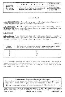 Azbest chryzotylowy do produkcji wyrobów azbestowo-cementowych BN-67/6754-02