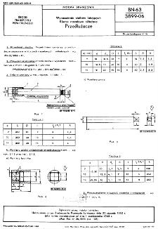 Wyposażenie statków latających - Klucze nasadowe składane - Przedłużacze BN-63/3899-06