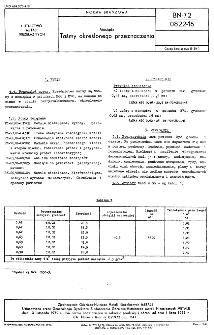 Mosiądz - Taśmy określonego przeznaczenia BN-72/0822-16