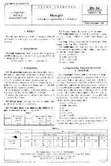 Mosiądz - Taśma do spawania i lutowania BN-84/0822-18