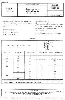 Srebro i stopy srebra - Styki nitowe lite - Kształt i wymiary BN-82/0879-02