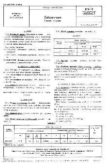 Żelazokrzem - Proszek rozpylany BN-71/0885-07.