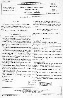 Silniki o zapłonie samoczynnym - Wtryskiwacze - Wymagania i badania BN-84/1301-08