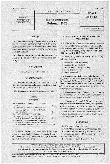 Żywice syntetyczne - Polomal P-72 BN-74/6111-14