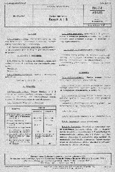 Żywice lakiernicze - Rezolit A i B BN-74/6111-1
