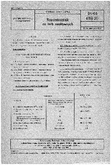 Rozcieńczalnik do farb reaktywnych BN-66/6118-20