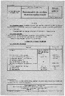 Rozcieńczalnik do wyrobów bitumiczno-epoksydowych BN-66/6118-21
