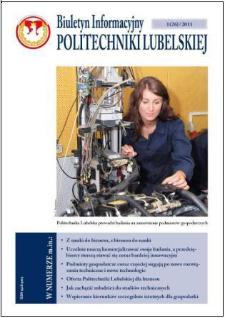 Biuletyn Informacyjny Politechniki Lubelskiej nr 26 - 1(26)2010