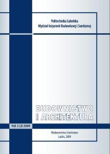 Budownictwo i Architektura Vol. 5(2)2009