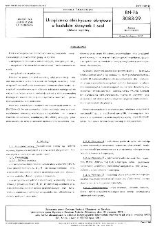 Urządzenia elektryczne okrętowe o kształcie skrzynek i szaf - Główne wymiary BN-76/3083-29