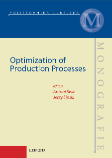 Optimization of production processes