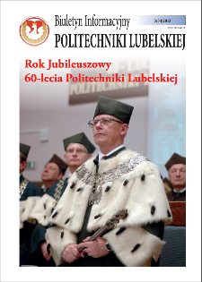 Biuletyn Informacyjny Politechniki Lubelskiej nr 34 - 3(34)2013