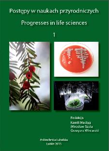 Postępy w naukach przyrodniczych = Progresses in life sciences. 1