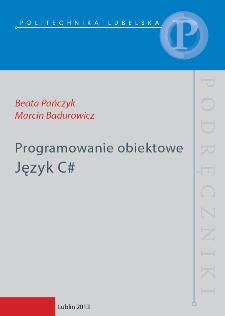 Programowanie obiektowe : język C#