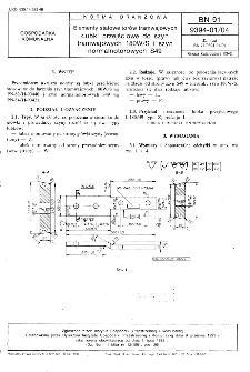 Elementy stalowe torów tramwajowych - Łubki przejściowe do szyn tramwajowych 180W/S i szyn normalnotorowych S49 BN-91/9394-01/04