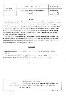 Stopy niklu określonego zastosowania wytapiane w prózni - Gatunki BN-79/0861-01