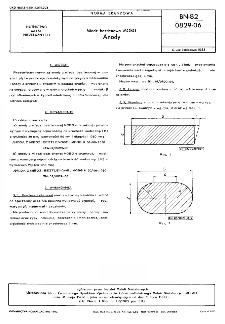 Miedź beztlenowa MOBG - Anody BN-82/0829-06