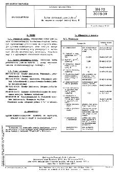 """Lakier elektroizolacyjny """"Izofenyl"""" do nasycania uzwojeń izolacji klasy B BN-70/3078-09"""