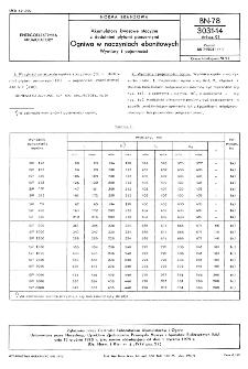 Akumulatory kwasowe stacyjne z dodatnimi płytami pancernymi - Ogniwa w naczyniach ebonitowych - Wymiary i pojemności BN-78/3031-14 Arkusz 01