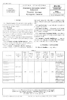 Urządzenia sterowania ruchem kolejowym - Dławiki torowe - Wymagania i badania BN-90/3506-08