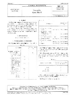 Gazy palne - Gaz PAPP BN-76/0543-16
