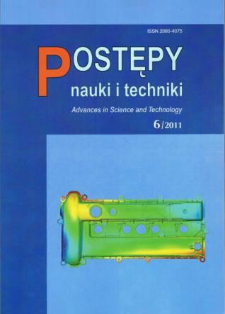 Postępy Nauki i Techniki = Advances in Science and Technology 6/2011