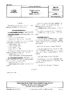 Obudowa metalowa - Stropnice - Podział i oznaczenie BN-79/0432-11
