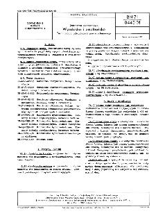 Górnictwo odkrywkowe - Wyrobiski i zwałowisko - Terminologia odwadniania powierzchniowego BN-71/0445-01