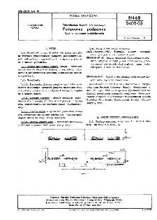 Odwadnianie kopalń odkrywkowych - Pompownie podziemne - Ogólne wytyczne projektowania BN-68/0405-03