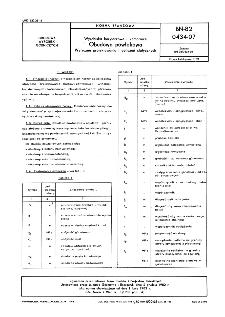 Wyrobiska korytarzowe i komorowe - Obudowa powłokowa- Wytyczne projektowania i obliczeń statycznych BN-82/0434-07