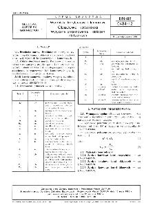Wyrobiska korytarzowe i komorowe - Obudowa kotwiowa - Wytyczne projektowania i obliczeń statycznych BN-88/0434-12