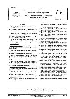 Urządzenia do podsadzki hydraulicznej - Zasady projektowania i wykonania obiektów budowlanych BN-73/0442-03