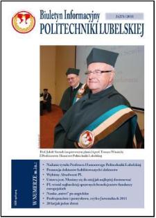 Biuletyn Informacyjny Politechniki Lubelskiej nr 27 - 2(27)2011