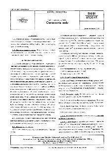 Torf i wyroby z torfu - Oznaczanie sodu BN-81/0520-17