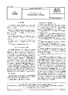 Torf i wyroby z torfu - Oznaczanie żelaza BN-82/0520-19